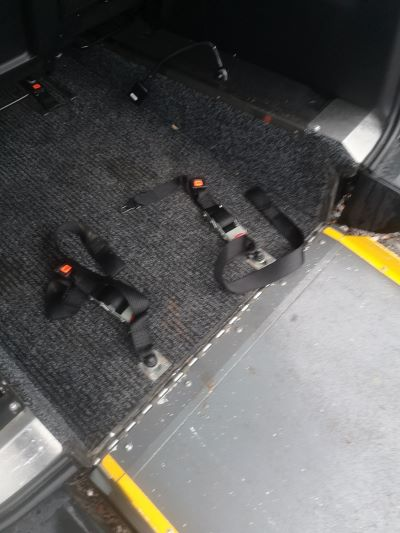 wheelchair fasteners