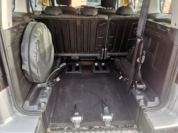 rear view wheelchair position